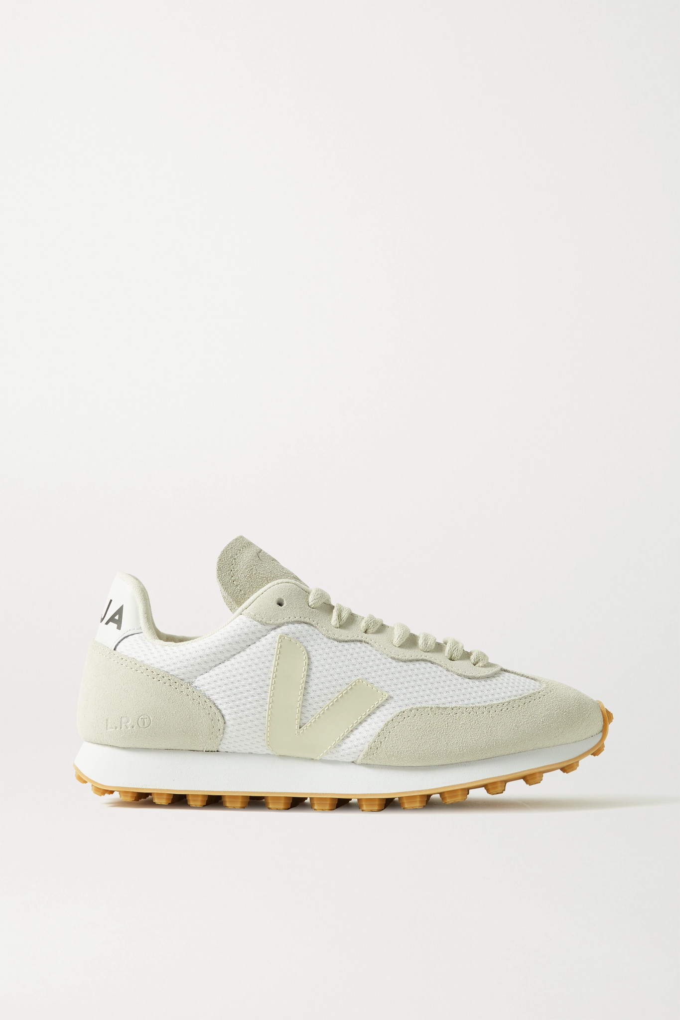 VEJA - + Net Sustain Rio Branco Leather-trimmed Suede And Mesh Sneakers - White - IT37
