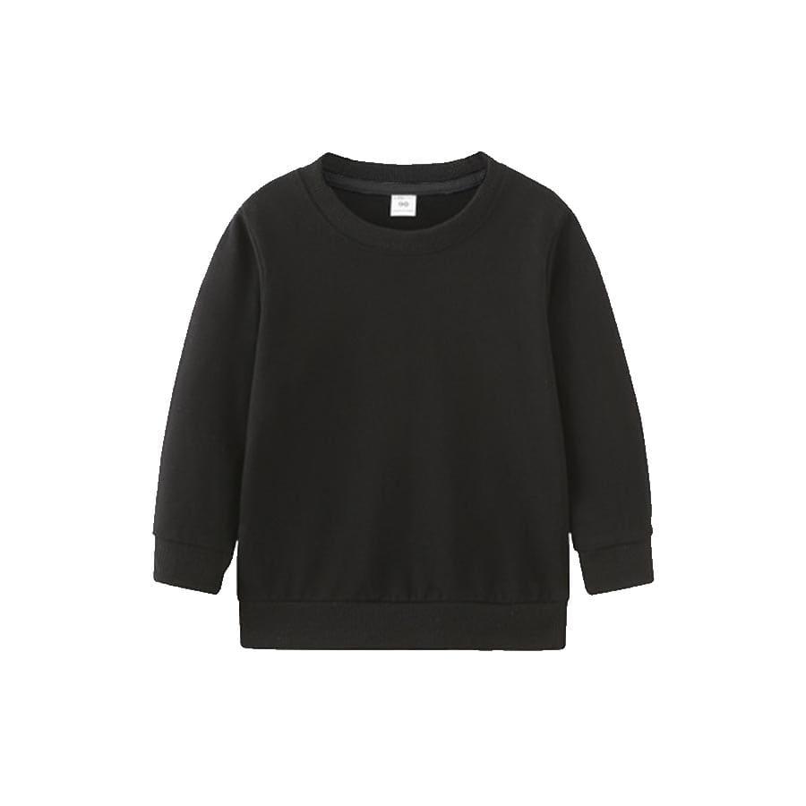 童裝素面大學衫-KDSW00