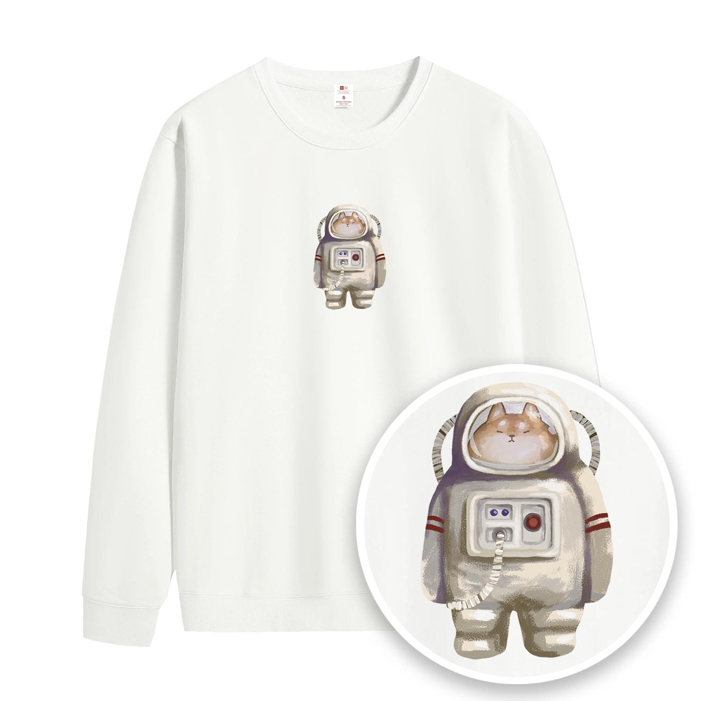 太空人柴柴大學衫-GTSW52