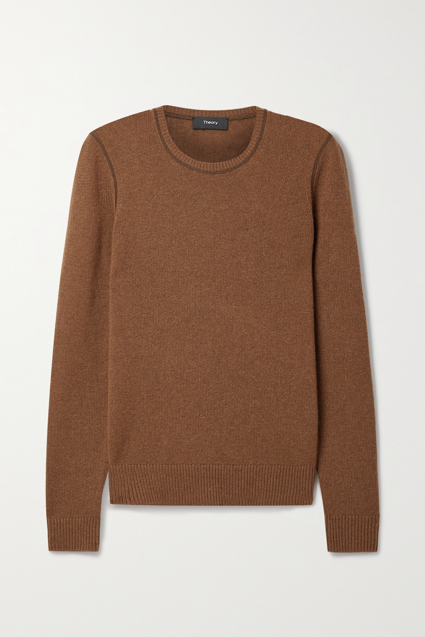 THEORY - Cashmere Sweater - Brown - x small