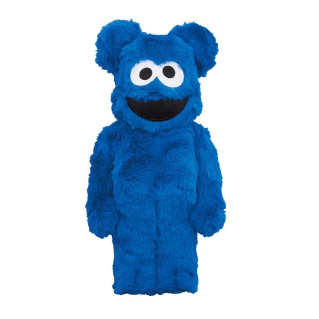 BE@RBRICK 芝麻街 餅乾怪獸 COOKIE MONSTER Costume Ver. 400% itn