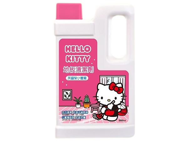 Hello Kitty~地板清潔劑(2000ml)英國梨小蒼蘭【D954175】 ※限宅配 三麗鷗授權