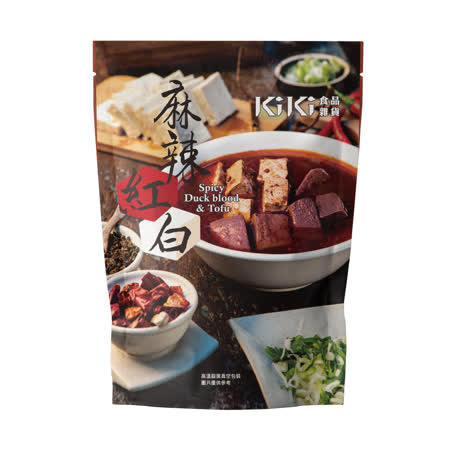 【KiKi食品雜貨】麻辣紅白x4袋(320g/袋)