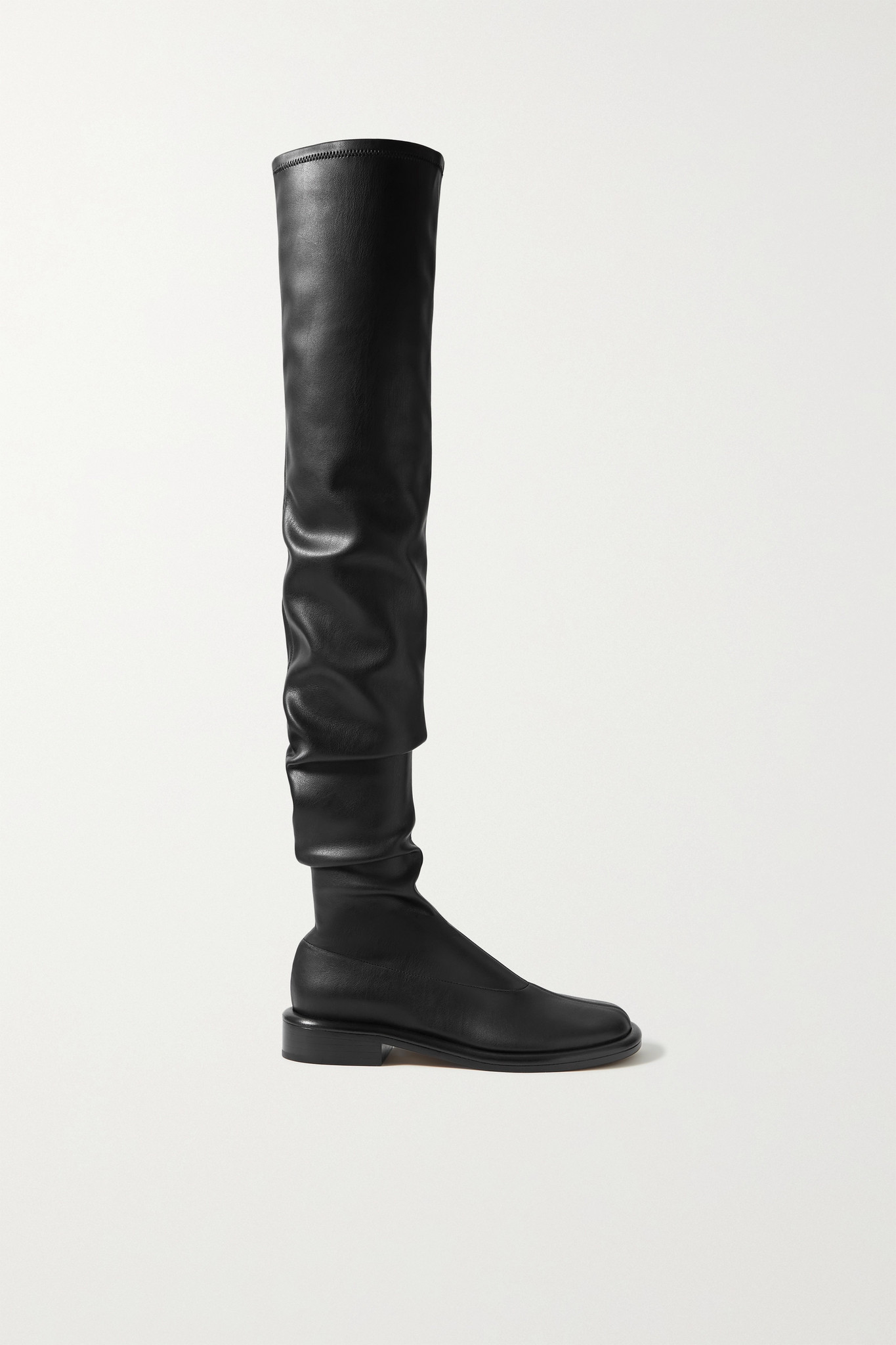 PROENZA SCHOULER - Boyd 皮革过膝长靴 - 黑色 - IT37.5