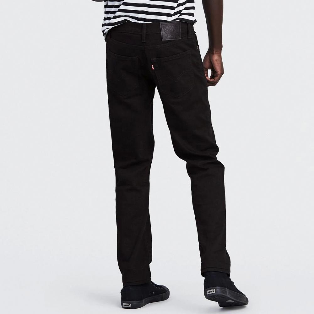 Levis 男款 511 低腰修身窄管牛仔褲 / 黑色基本款 / 彈性布料-人氣新品