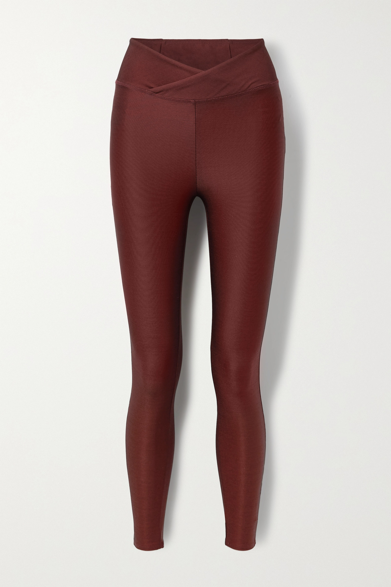 TWENTY MONTRÉAL - Colorsphere Stretch Leggings - Red - medium
