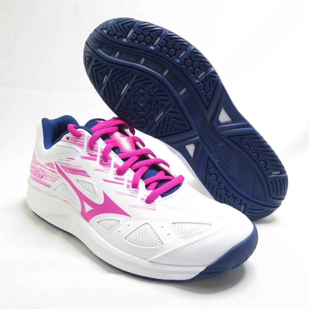 Mizuno SKY BLASTER 2 女款 桌排羽球鞋 71GA204564 白X粉紅【iSport愛運動】