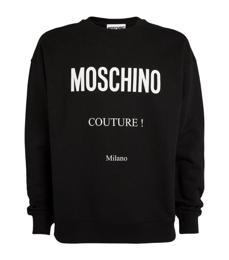 Moschino Cotton Couture Logo Sweatshirt