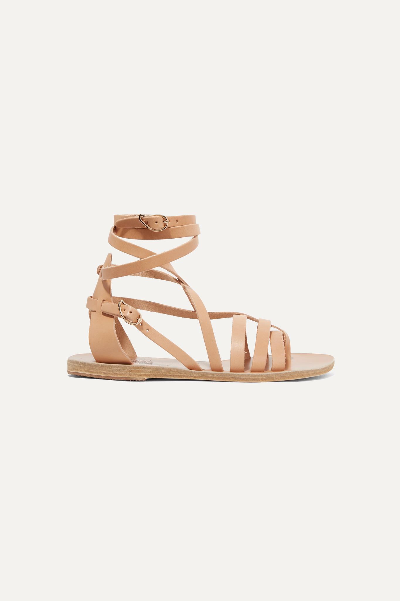 ANCIENT GREEK SANDALS - Satira 皮革凉鞋 - 中性色 - IT36