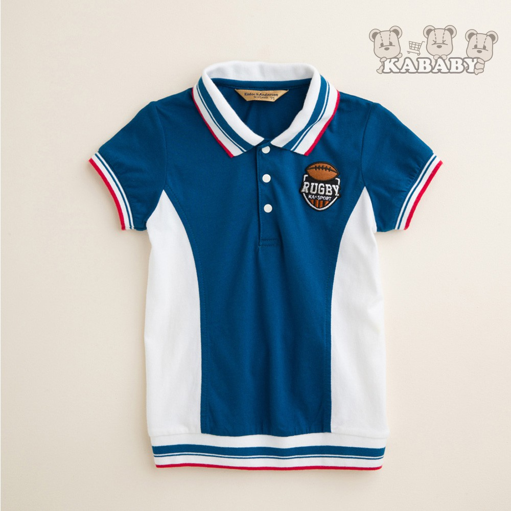 【金安德森】KA撞色男童POLO衫 (共二色)