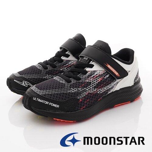 日本月星競速童鞋-究極強系列運動款-SSJ10333黑-(20cm-23cm)
