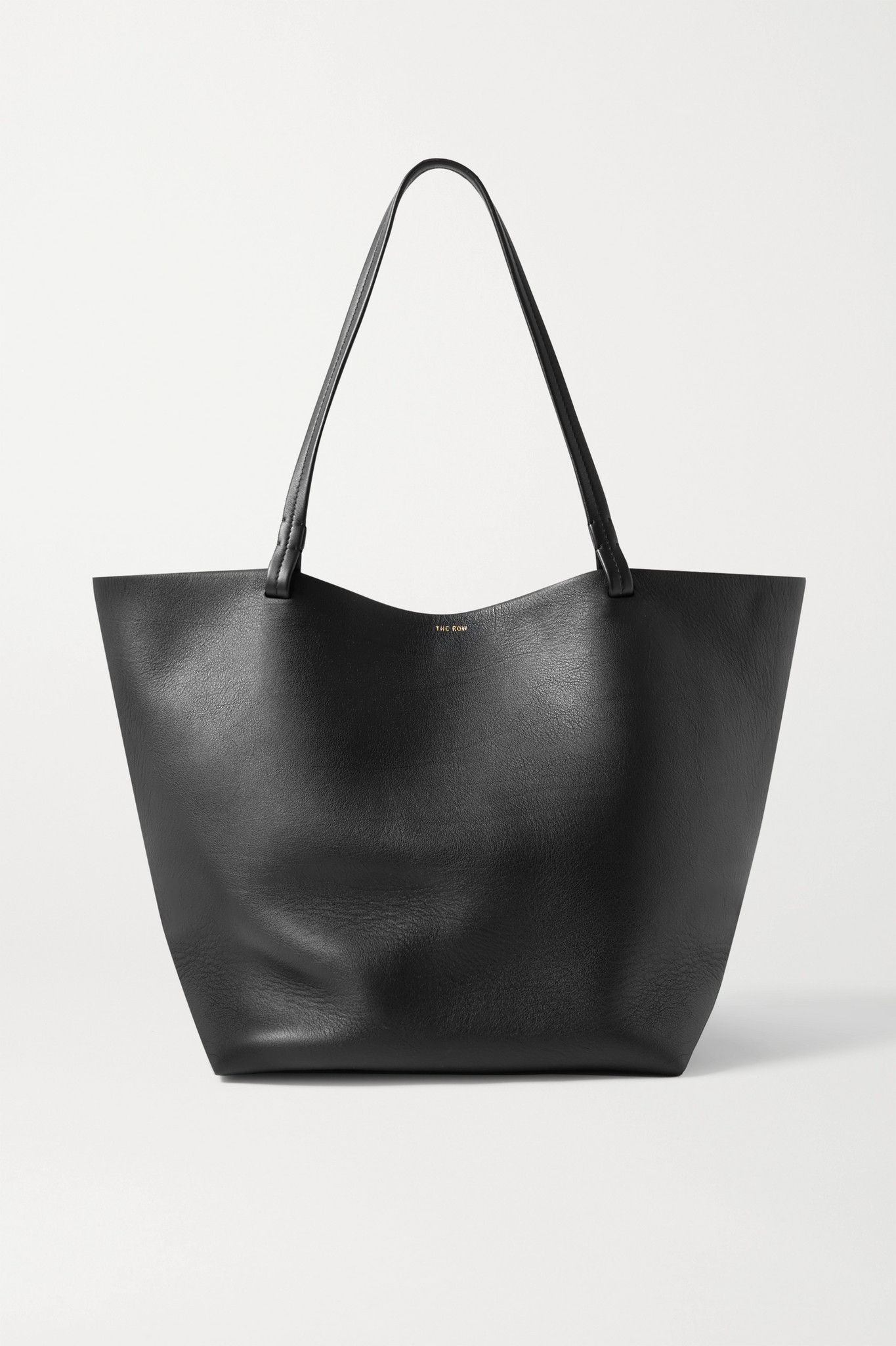 THE ROW - Park 3 Medium Leather Tote - Black - One size