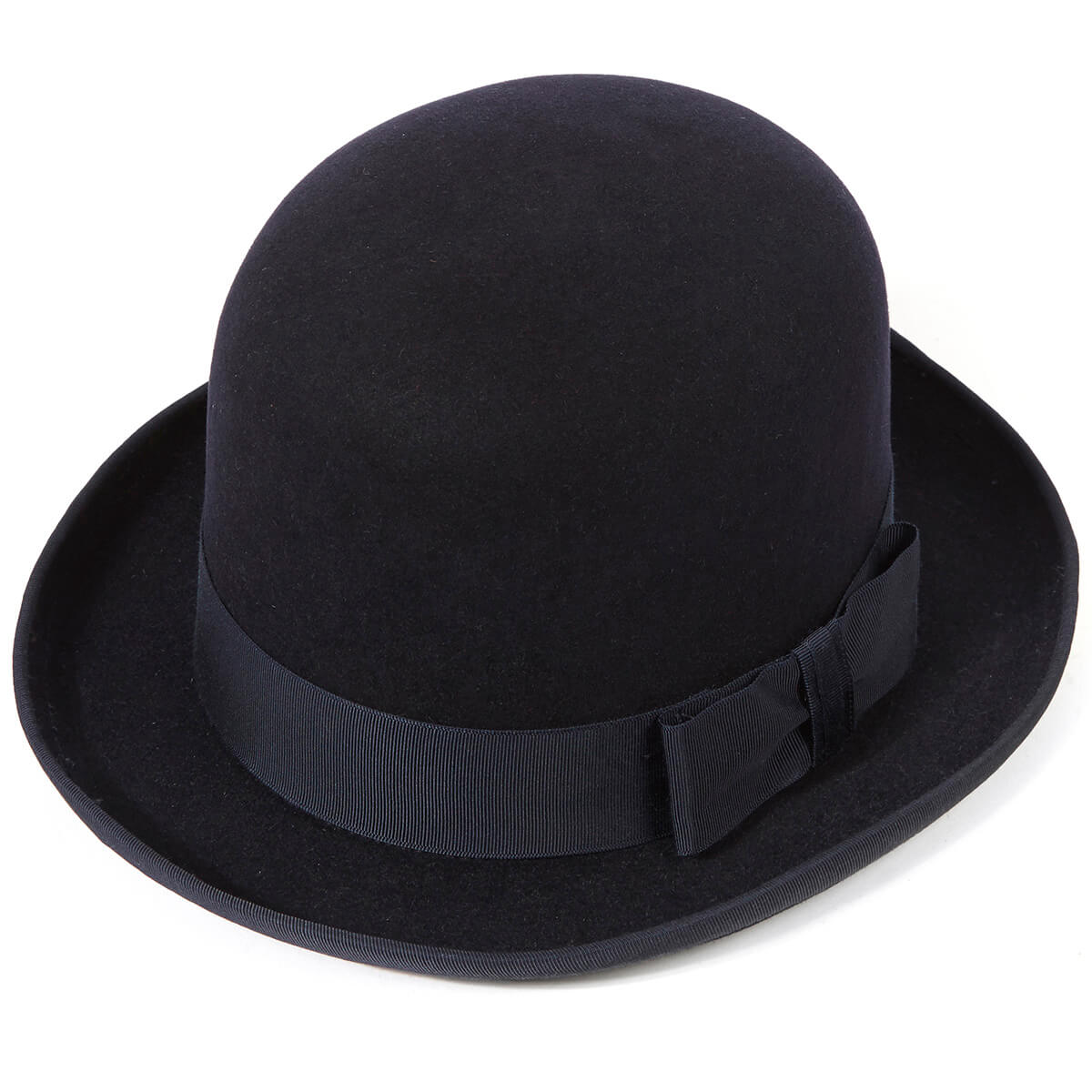 Homburg Hat - Navy - 60cm
