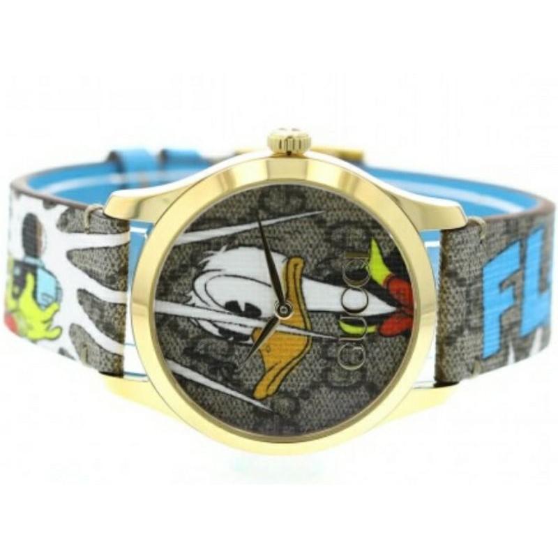 Disney x Gucci G-Timeless YA1264167代購現貨正品 可無卡分期