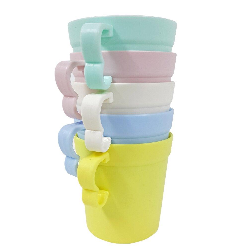 橘之屋 環保野餐餐杯組-5入 / 野餐餐具 環保餐具 兒童杯