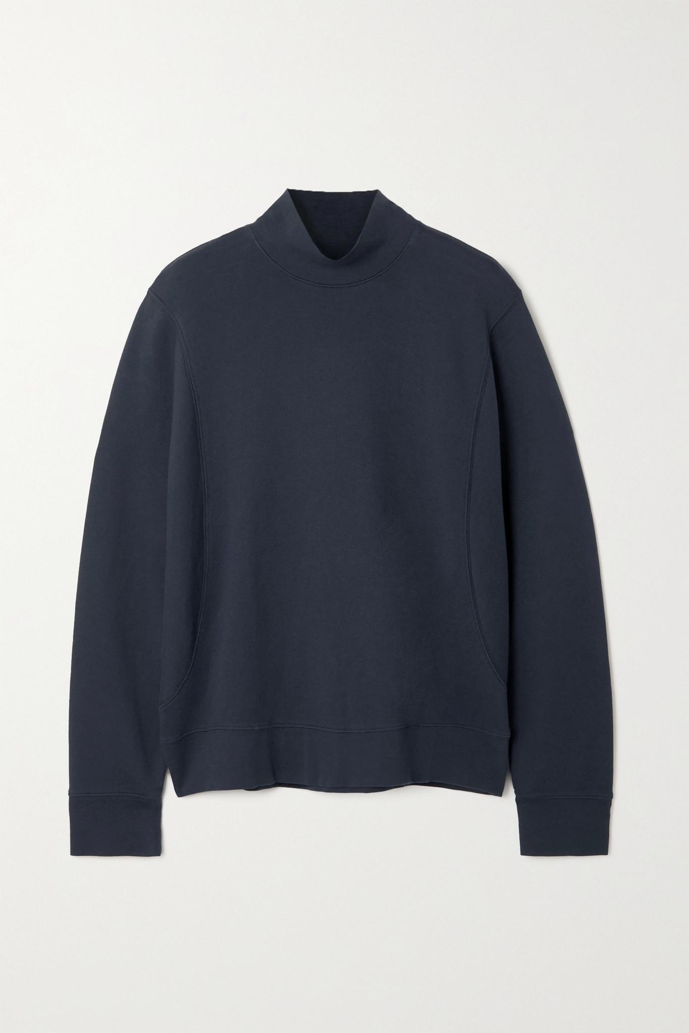 VINCE - Cotton-jersey Sweatshirt - Gray - medium