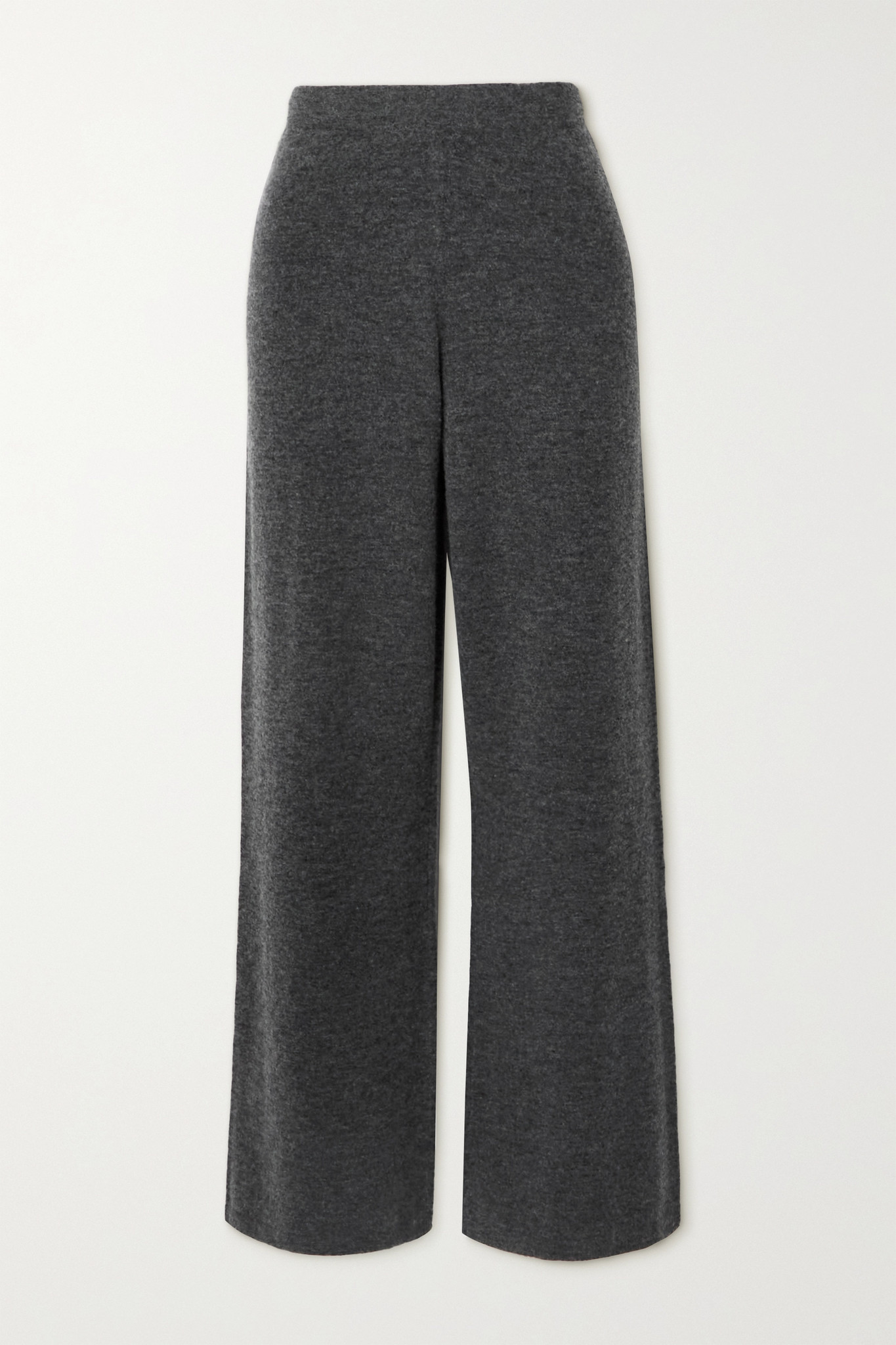 JOSEPH - Knitted Wide-leg Pants - Gray - medium