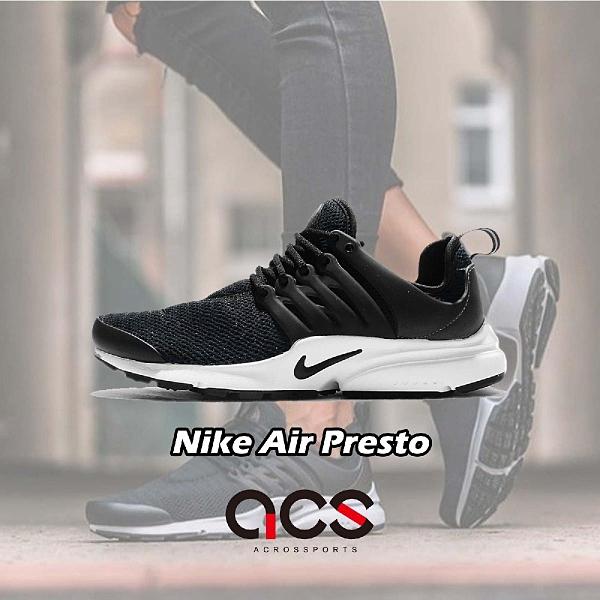 【六折特賣】Nike 休閒慢跑鞋 Wmns Air Presto 黑 白 低筒 魚骨鞋 黑白 女鞋【ACS】 878068-001