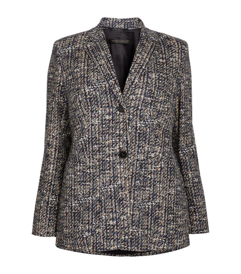 Marina Rinaldi Tweed Blazer
