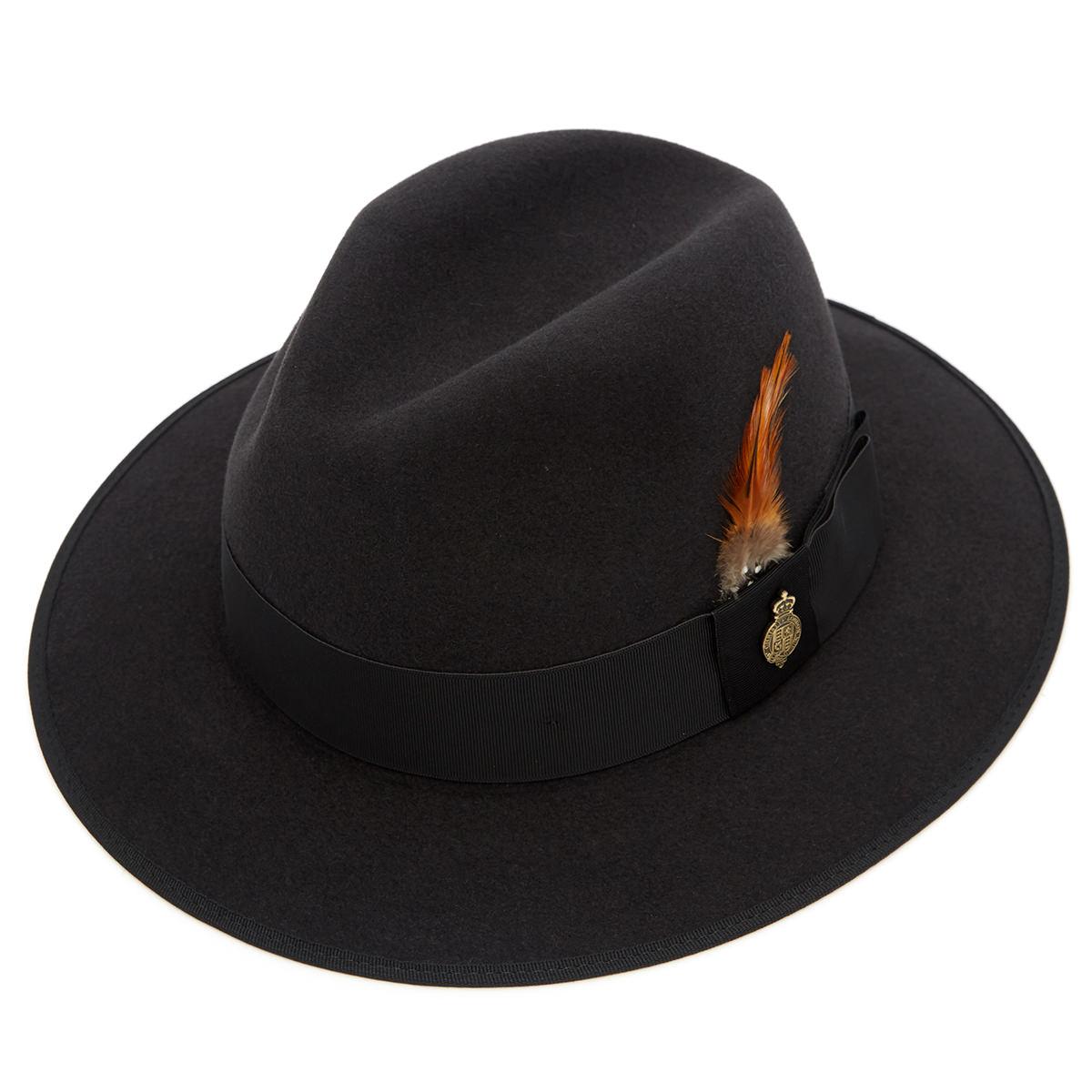 Farnham Down Brim Fur Felt Trilby Hat Bessemer 62