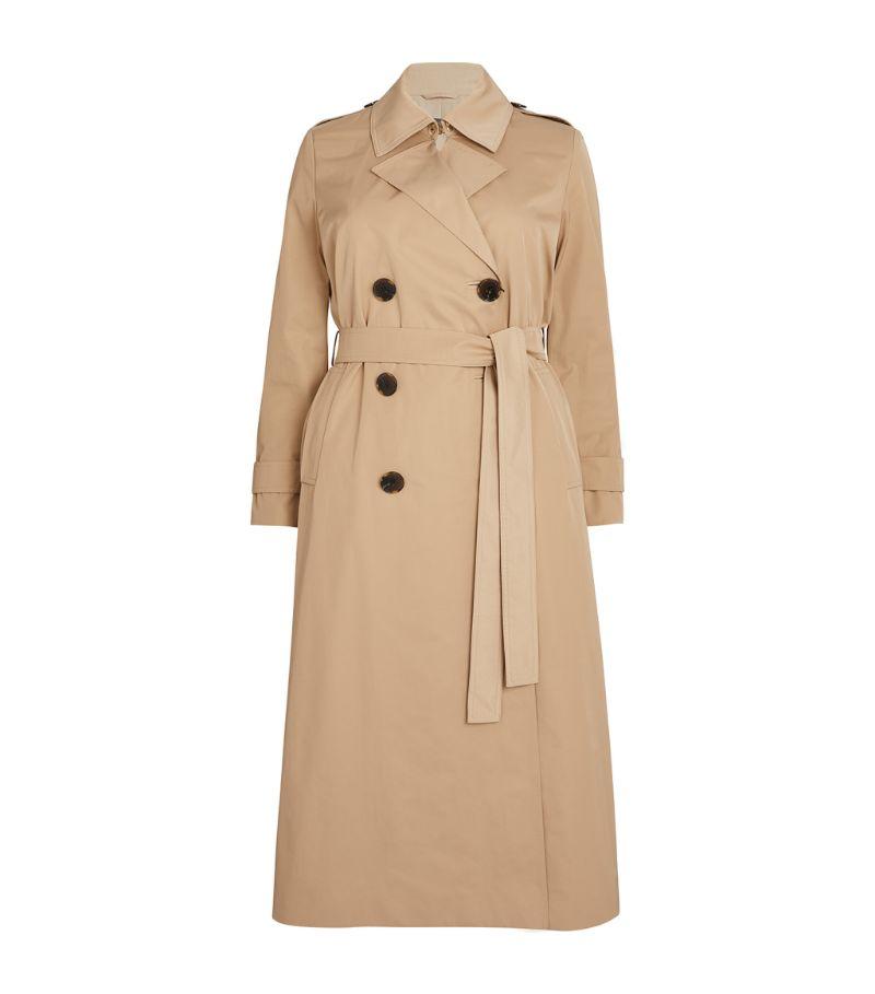 Marina Rinaldi Double-Breasted Trench Coat