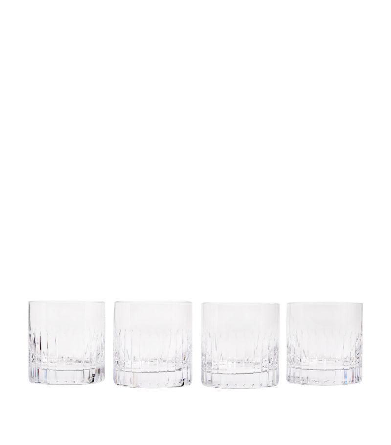 Soho Home Set Of 4 Roebling Rocks Glasses (337Ml)