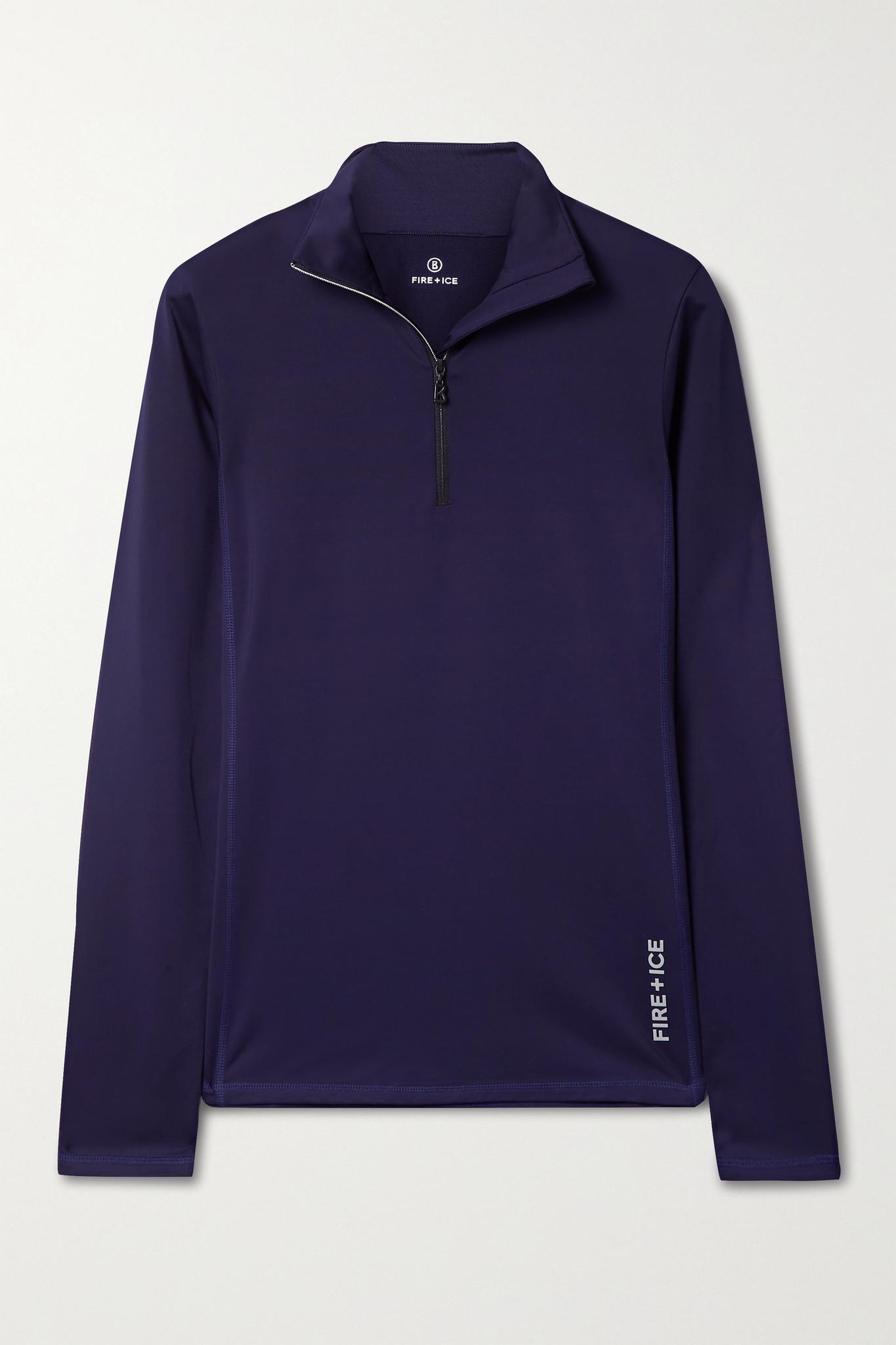 BOGNER FIRE+ICE - Margo 2 弹力平纹布打底上衣 - 紫色 - small