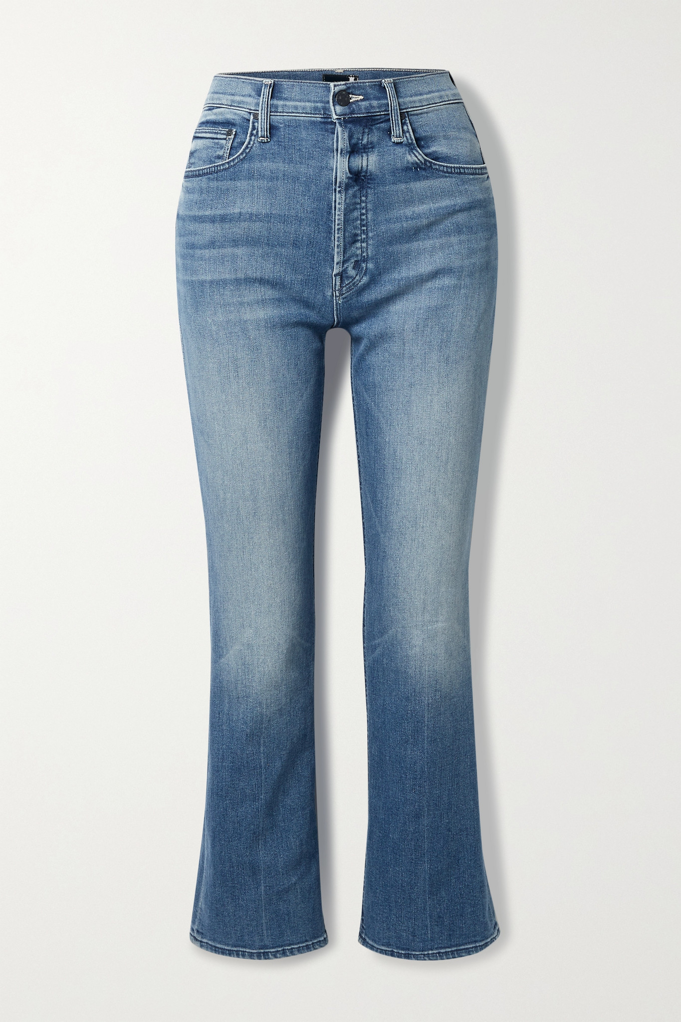 MOTHER - The Tripper High-rise Straight-leg Jeans - Blue - 25