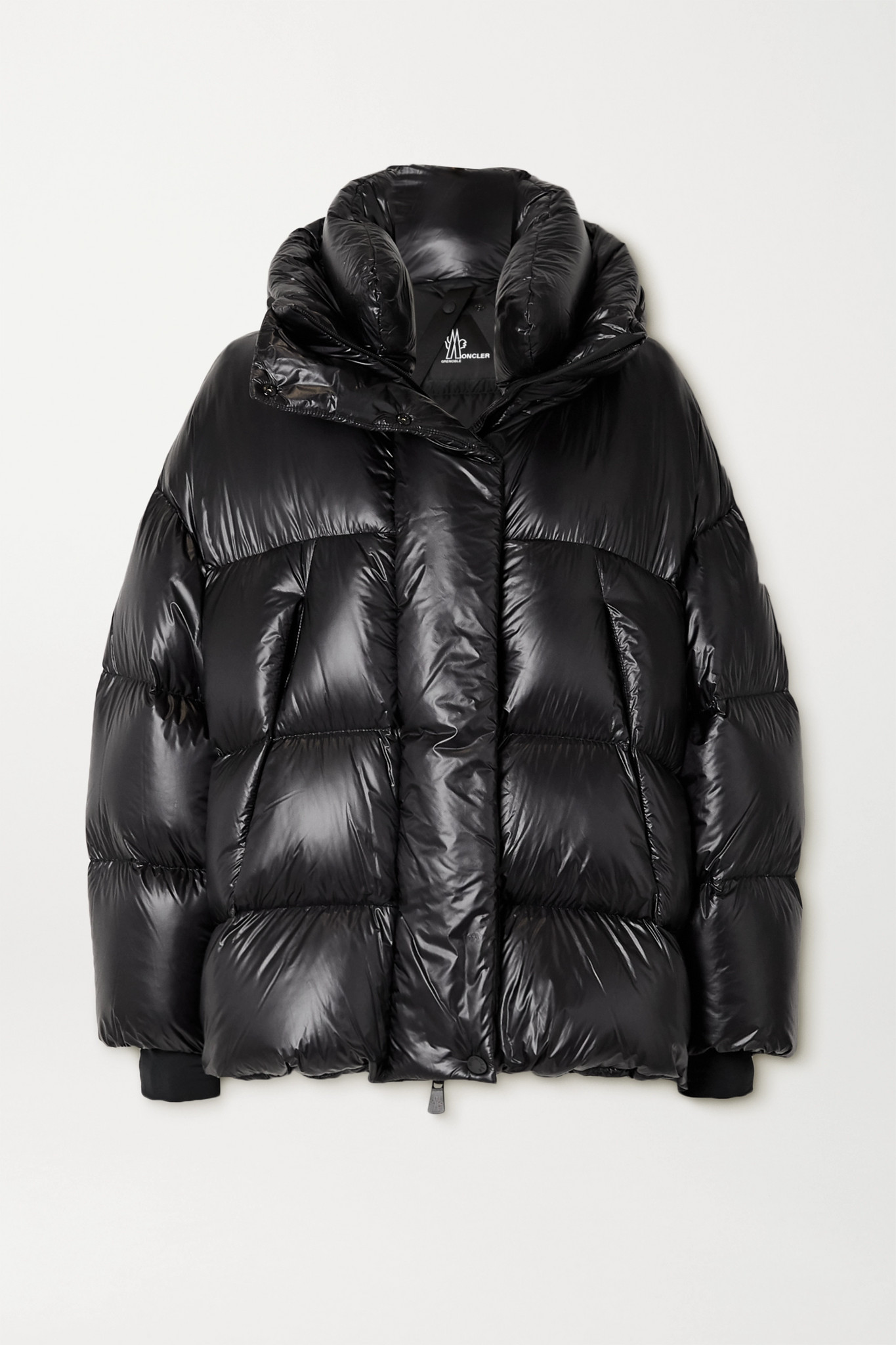 MONCLER GRENOBLE - Arpuilles Quilted Glossed-shell Down Jacket - Black - 1
