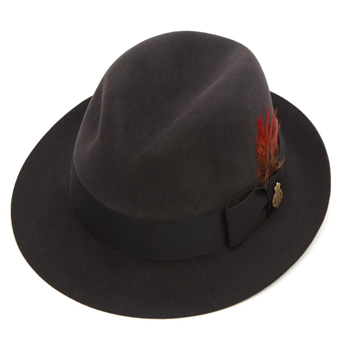 Fulmer Fur Felt Trilby Hat Bessemer M