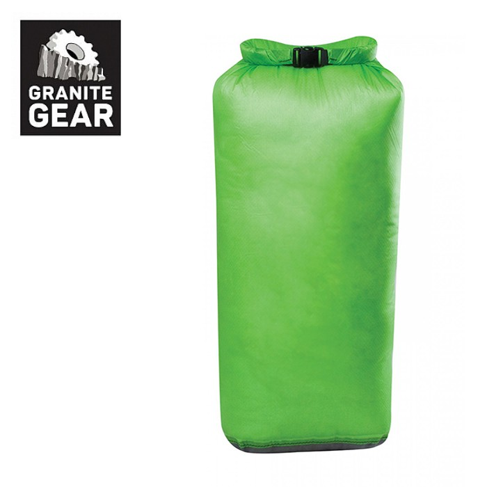 【Granite gear 美國】eVent Sil DrySack 10L 輕量防水收納袋 綠色 (175232)