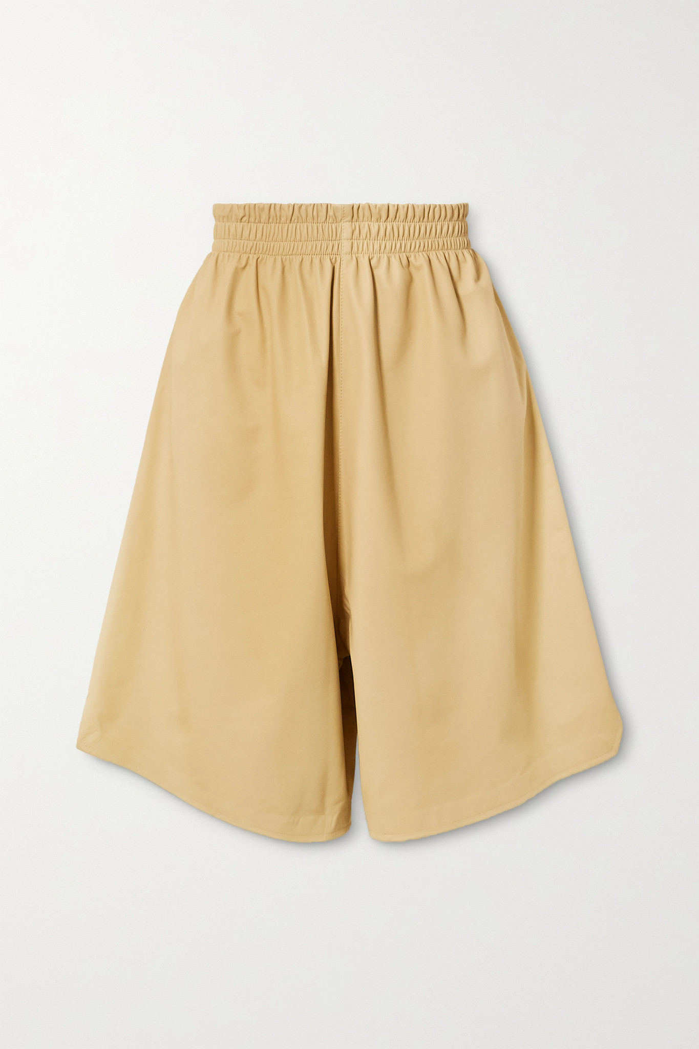 BOTTEGA VENETA - Leather Shorts - Cream - medium