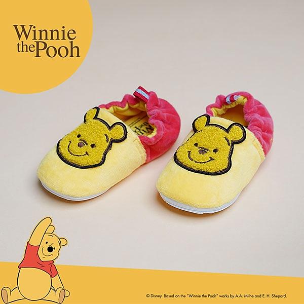 Disney迪士尼童鞋 維尼毛毛造型 休閒童鞋