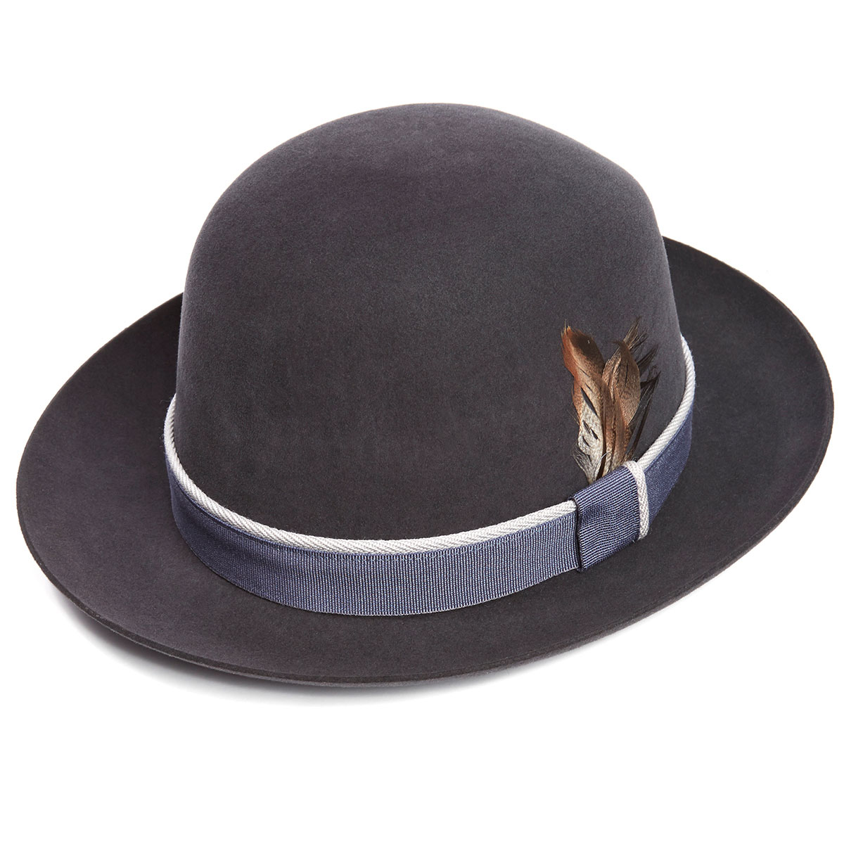 Seasonal Foldaway Fur Felt Trilby Hat in Bessemer - Bessemer in Size 55cm