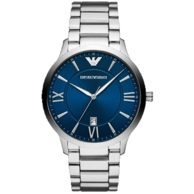 EMPORIO ARMANI 亞曼尼 AR11227 義式時尚藍調腕錶