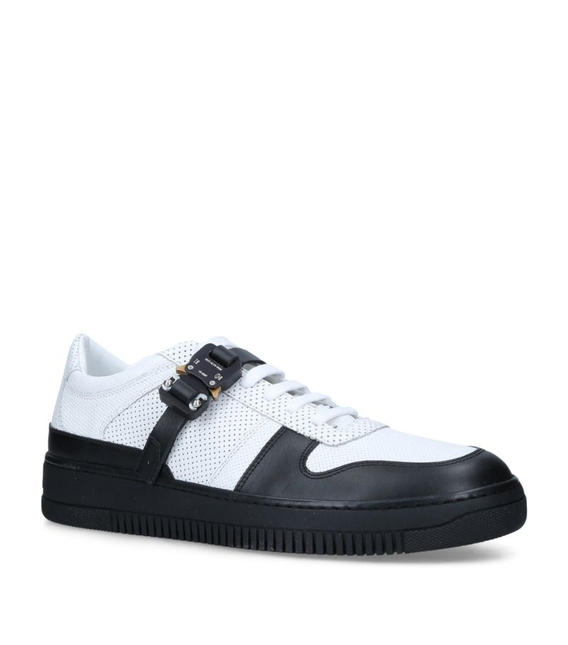 1017 Alyx 9Sm Leather Two-Tone Buckle Sneakers