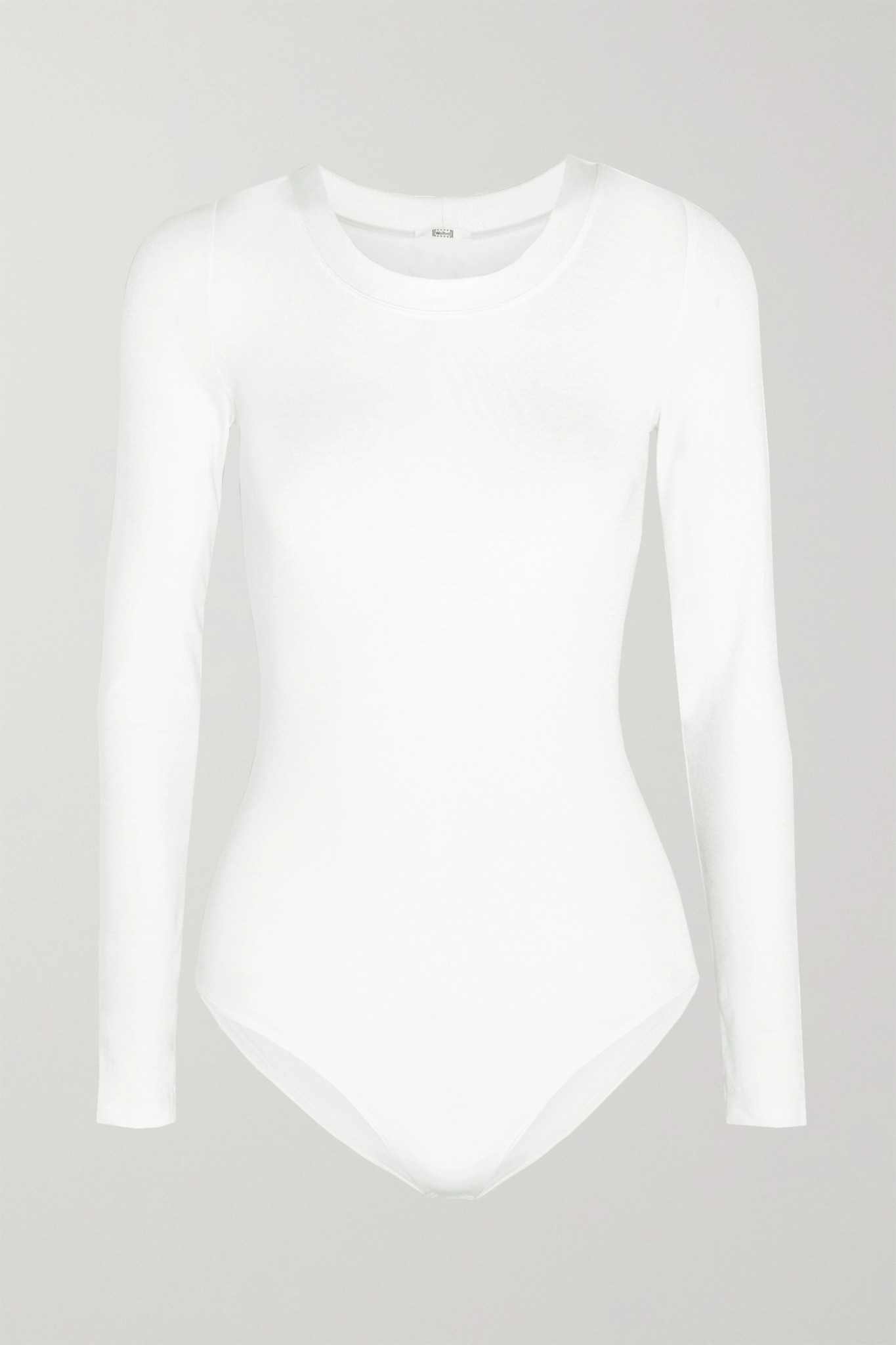 WOLFORD - Berlin Stretch-jersey Bodysuit - White - medium