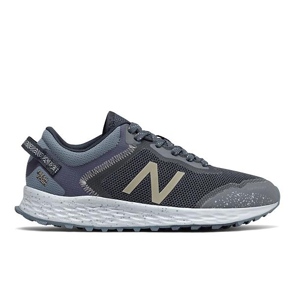 New Balance D 女鞋 慢跑 越野 輕量 高緩震 灰 藍【運動世界】WTARISCK