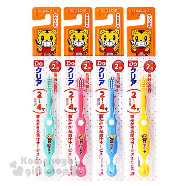 小禮堂 巧虎 孩童牙刷《4款.隨機出貨.舉手》適用2~4歲兒童4901616-21483