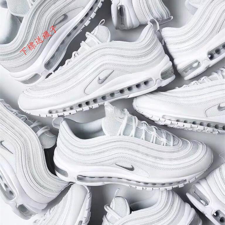 現貨 Nike Air Max 97 OG 子彈系列 全掌氣墊子彈頭慢跑鞋 男鞋 女鞋 情侶鞋 慢跑鞋 休閒鞋 網紅同款