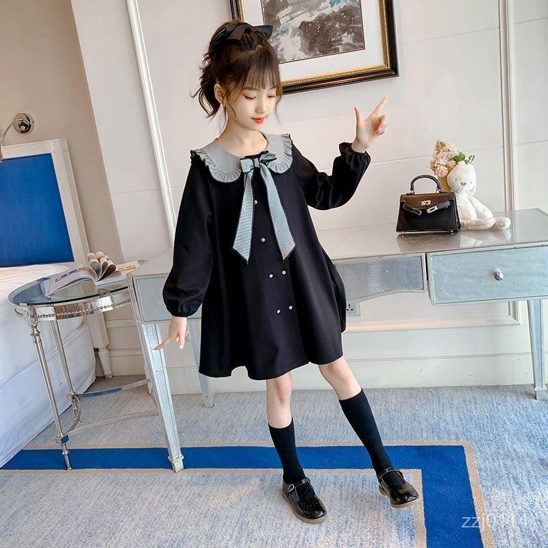 連衣裙2020冬裝兒童洋氣加絨新款女童公主裙加厚