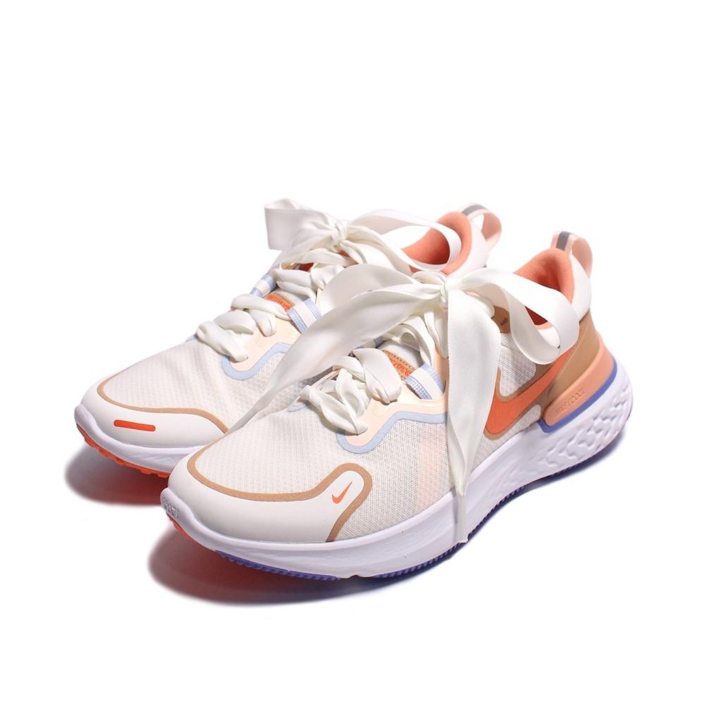 NIKE REACT MILER 粉膚 女 緞帶鞋帶 運動 訓練 慢跑鞋 DD8502181