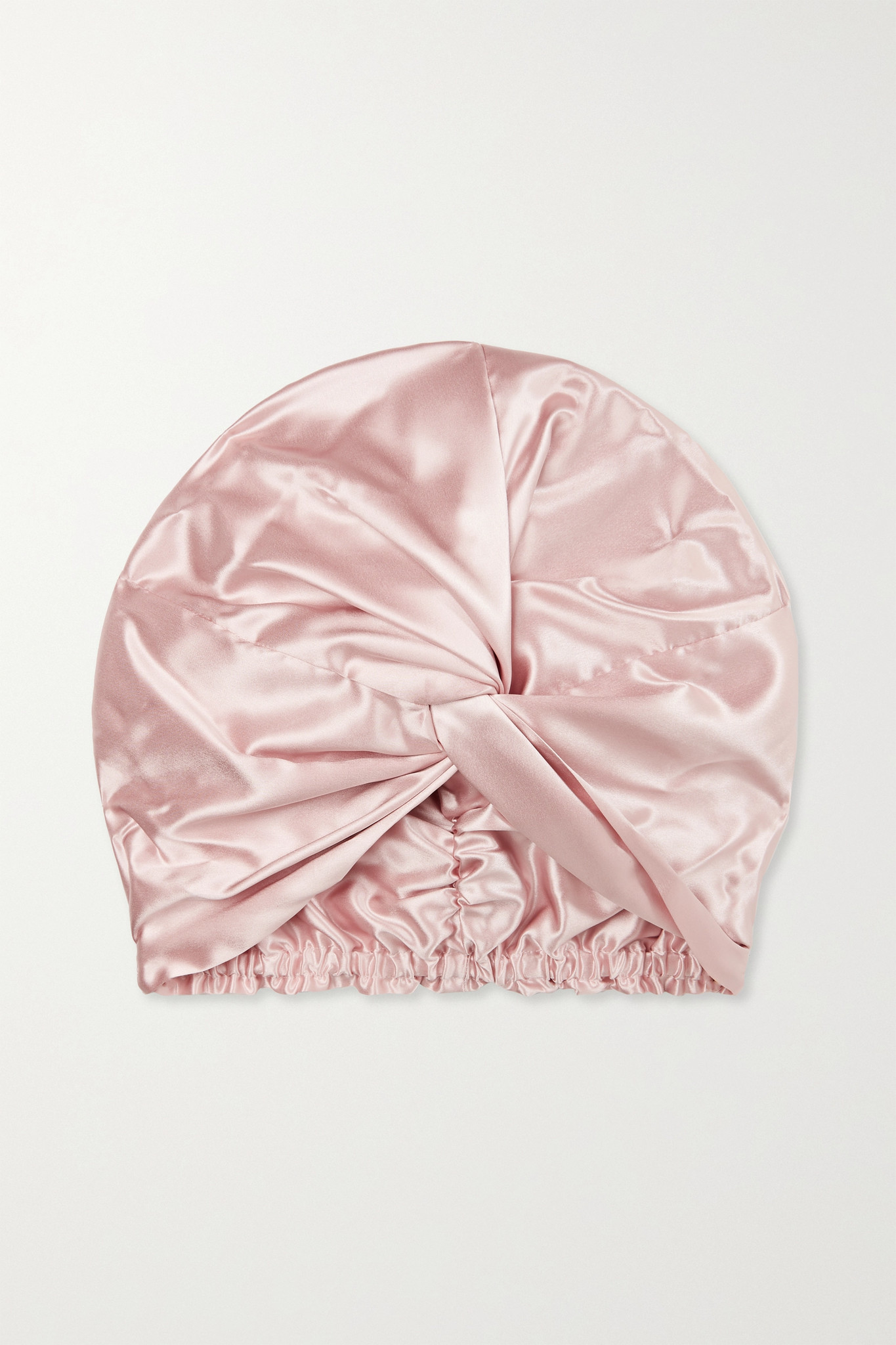 SLIP - Pure Silk Turban - Pink - one size