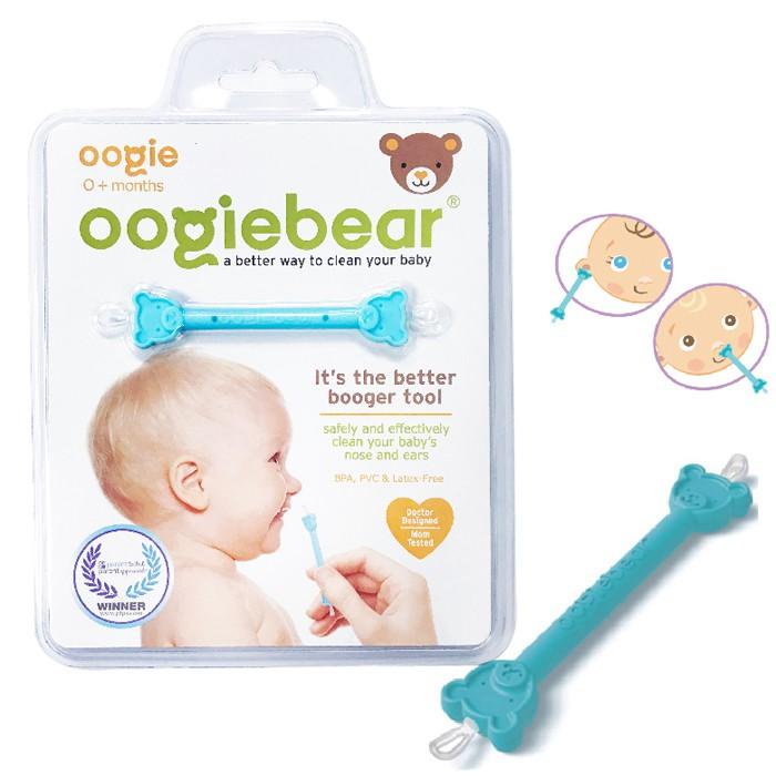 美國Oogiebear QQ熊 挖耳棒/兩用耳鼻清潔棒