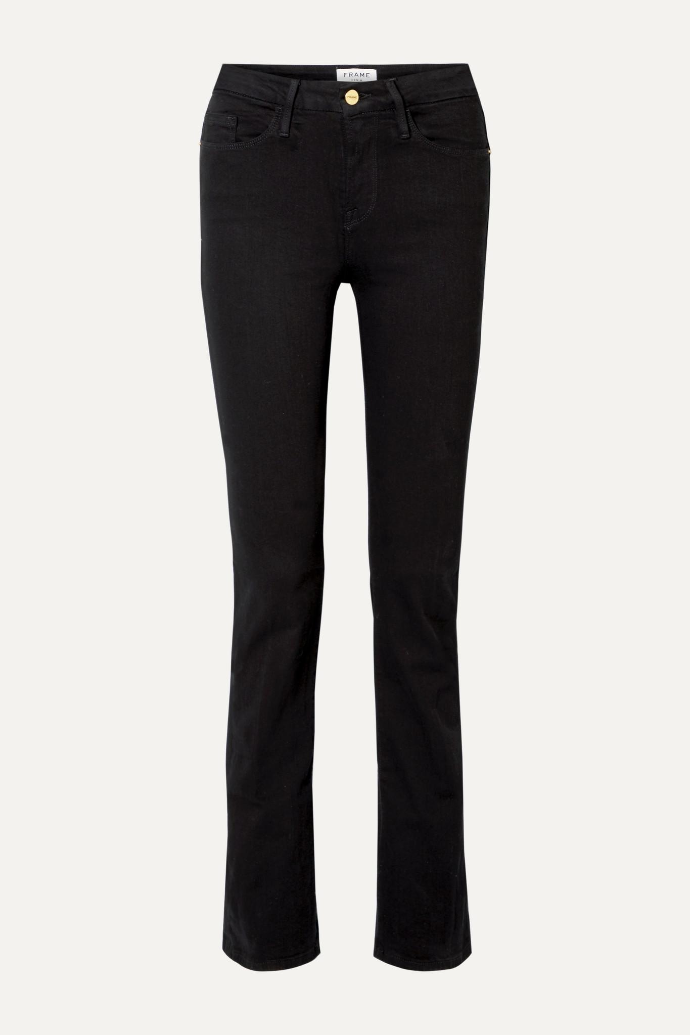 FRAME - Le Mini Boot Mid-rise Jeans - Black - 30