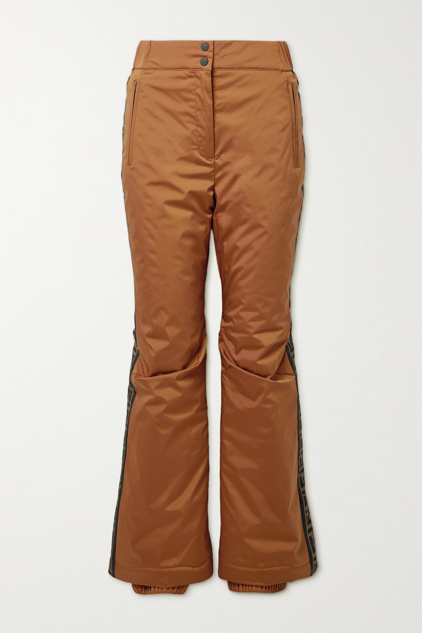 FENDI - Printed Ski Pants - Brown - IT38
