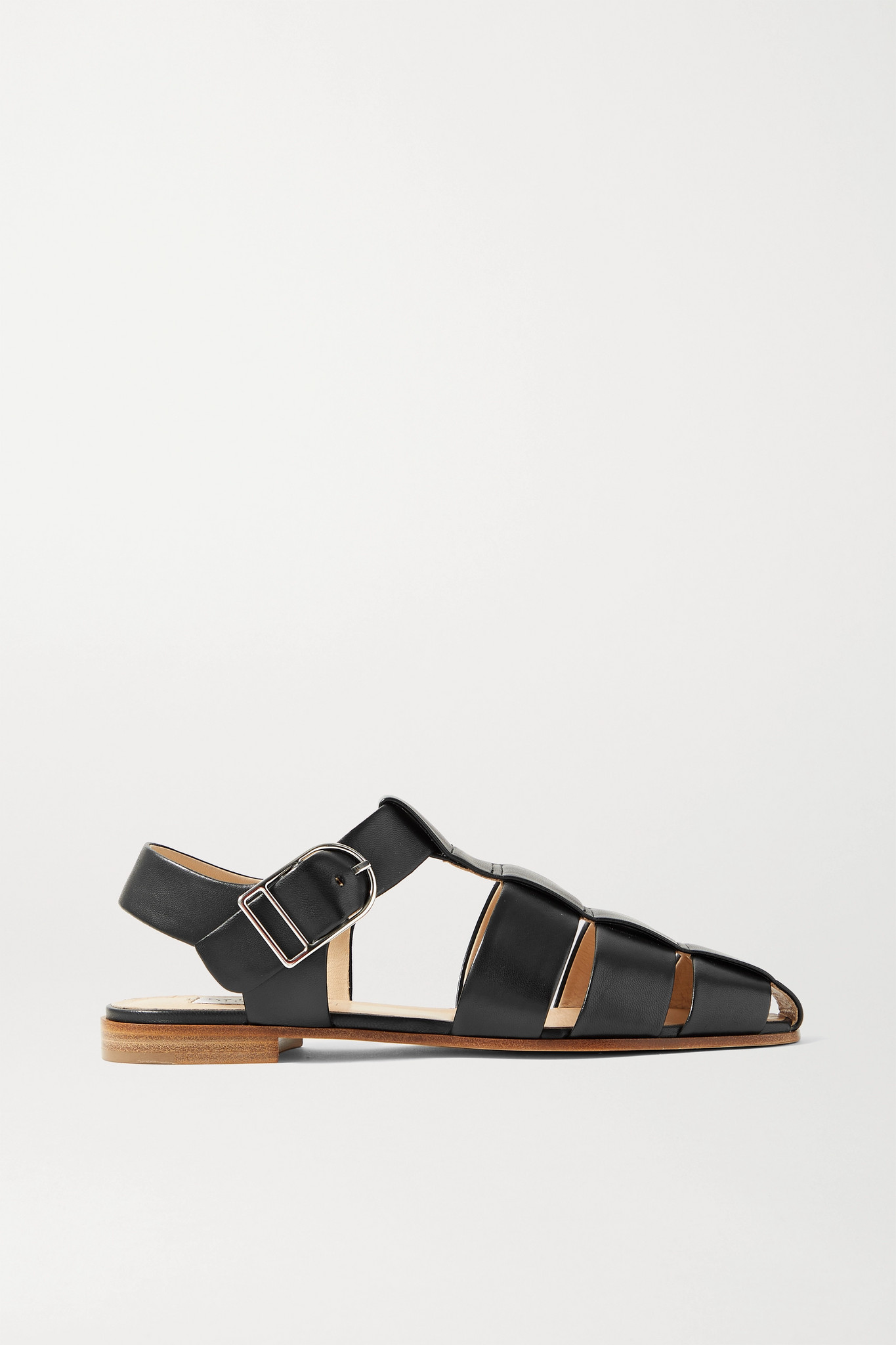 GABRIELA HEARST - Lynn Leather Sandals - Black - IT35