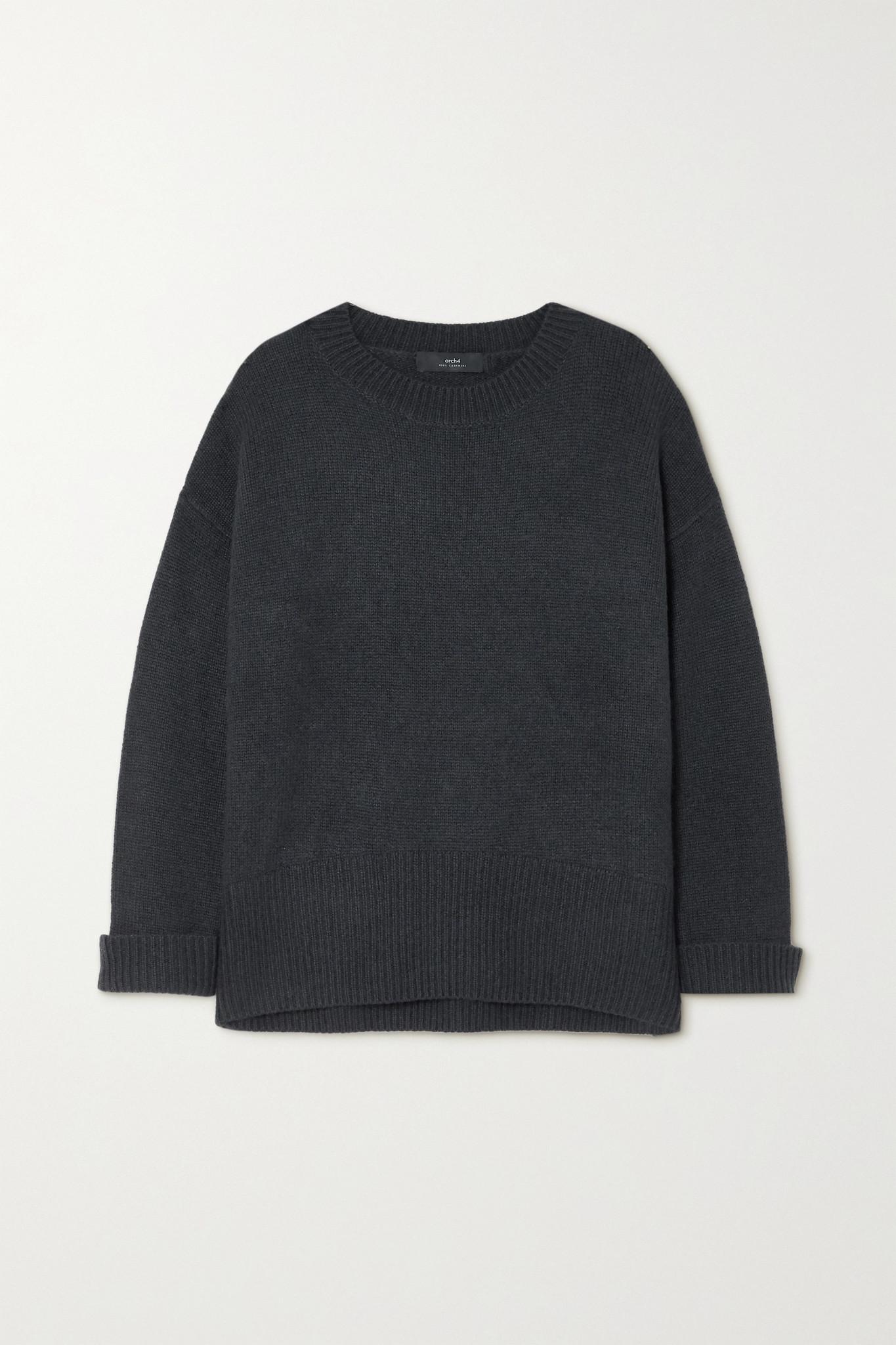 ARCH4 - Knightsbridge 羊绒毛衣 - 灰色 - One size