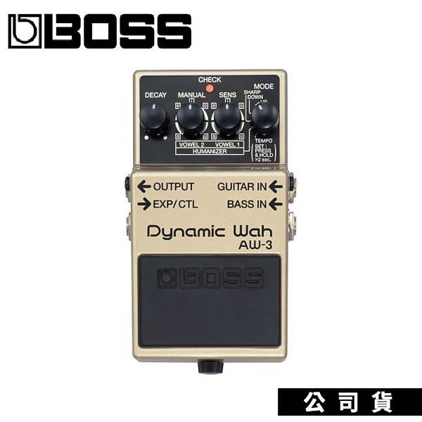 【南紡購物中心】效果器 BOSS AW3 AW-3動態哇哇 Dynamic Wah