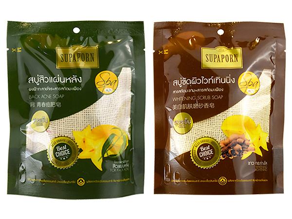 泰國 SUPAPORN~迷情美背淨荳/仙女去角質亮白 搓澡SPA皂(70g) 2款可選【D012867】